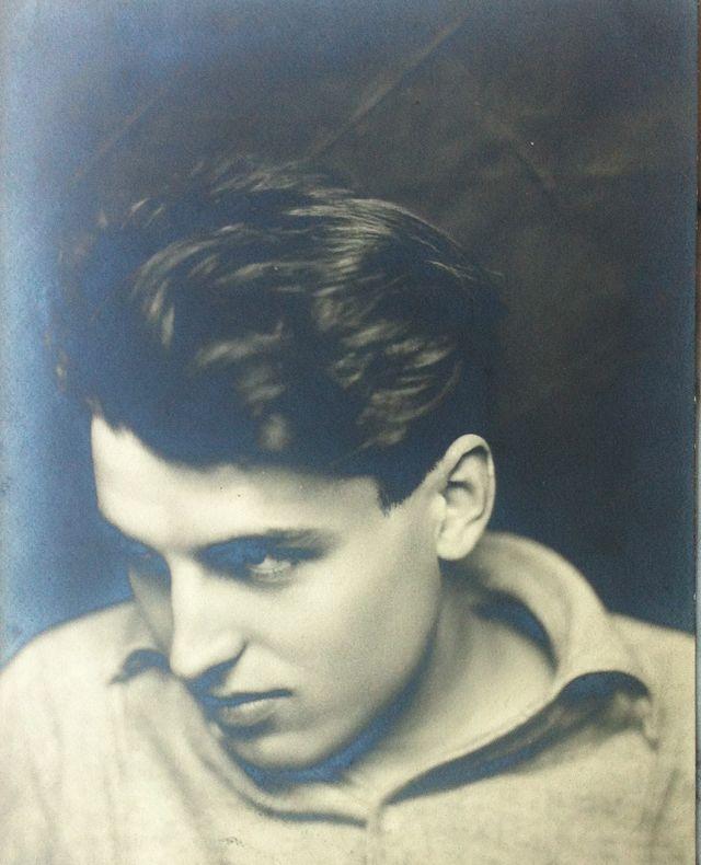 Portrait d'Eli Lotar, vers 1925