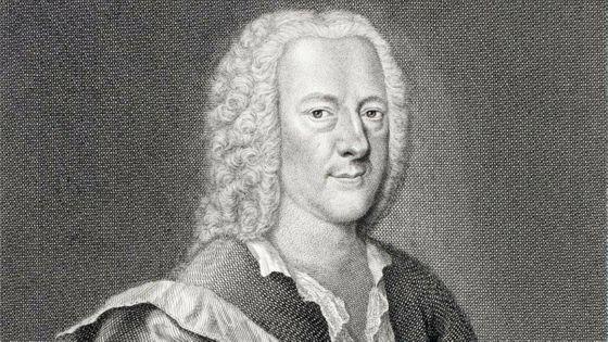 Georg Philip Telemann, par Georg Lichtensteger (1700-1781)