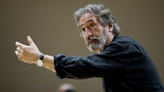 Le chef d'orchestre catalan Jordi Savall