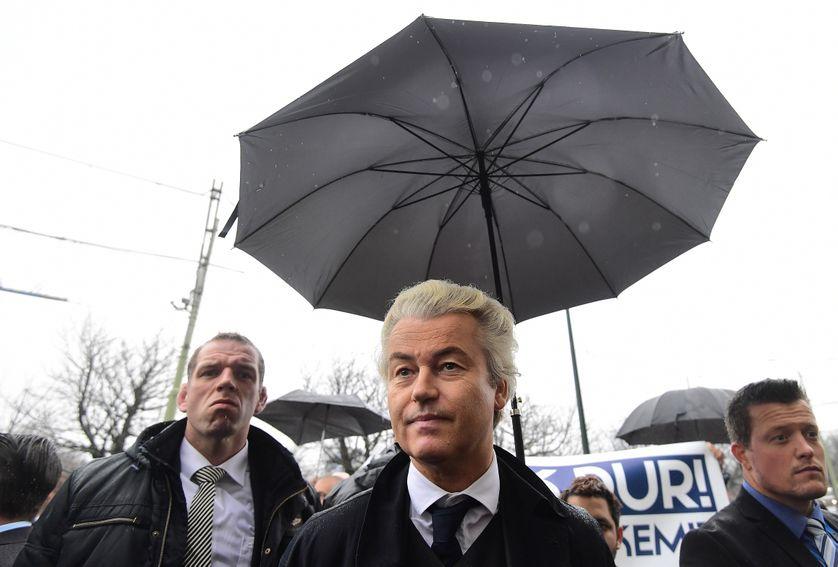 Geert Wilders, leader du parti d'extrême droite PVV