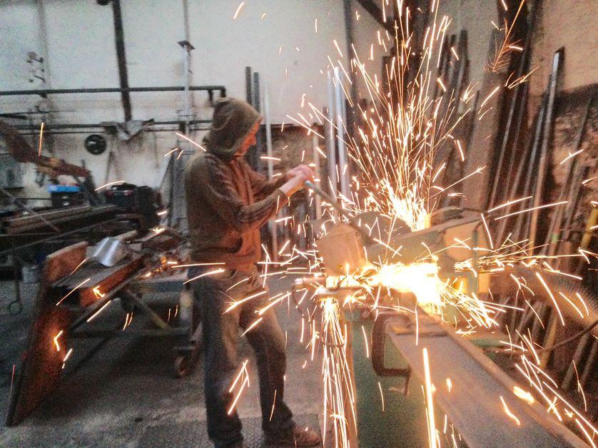 Jean-Philippe Dham, artisan métallo à Villecresnes (94), coopérateur plutôt qu'auto-entrepreneur