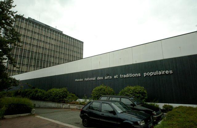 Le musée national des arts et traditions populaires (ATP), deux semaines avant sa fermeture le 5 septembre 2005.