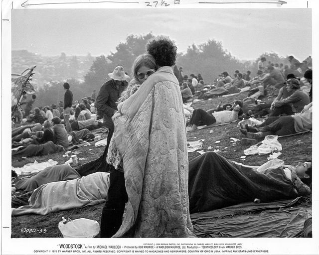 Woodstock, 1969, au petit matin