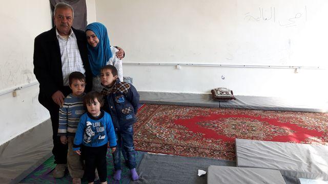 A Homs, chez des réfugiés de Palmyre