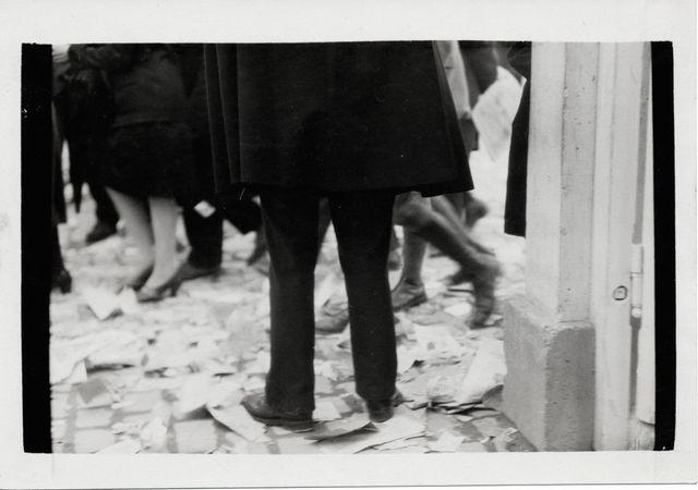 On a distribué de nombreux prospectus », 1928. »  Amsab-Institut d'histoire sociale, Gand, 043.