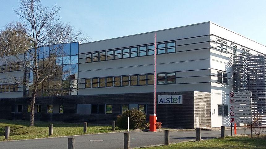 L'entreprise Alstef, dont l'origine remonte à 1961, est installée à Boigny-sur-Bionne, près d'Orléans