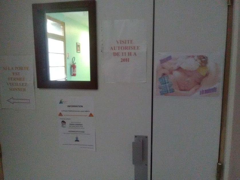 Le service de maternité de l'hôpital de Die