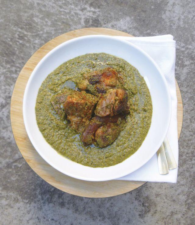 Ravitoto au porc, recette extraite du livre Le Patrimoine culinaire africain