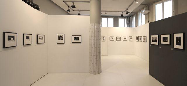 Vue de l'exposition Ray K. Metzker