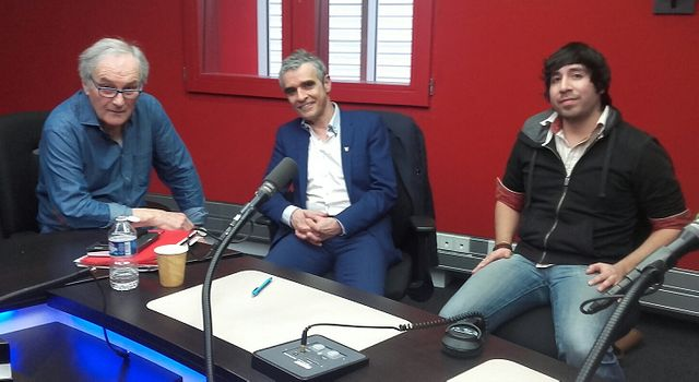 Alain Mingam, Bruno Oré et Fabrice Drouelle