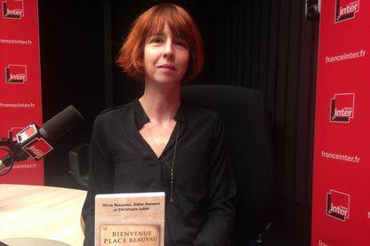 "Olivia Recasens, co-auteure de ""Bienvenue Place Beauvau"""