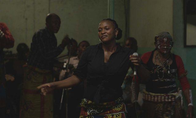 L'actrice Véronique Beya Mputu qui interprète Félicité