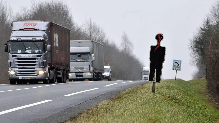 Sur la RCEA, il y a deux fois plus d'accidents graves que sur les autres routes du même type.