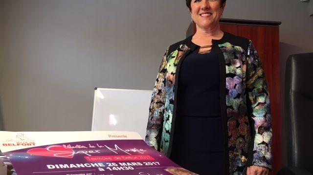 Sylviane Huelin est la super mamie 2016 du Territoire de Belfort
