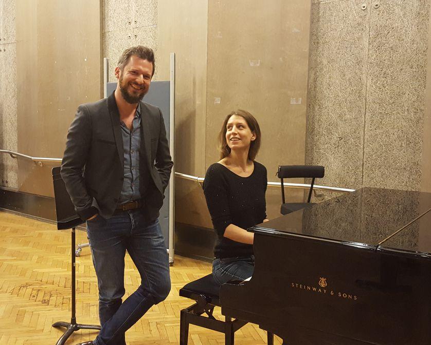 Adèle van Reeth et Jan Blanc