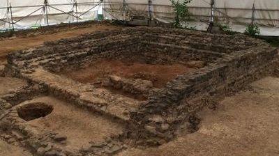 Le fanum (temple) sera rénové tout comme les autres monuments historiques du site