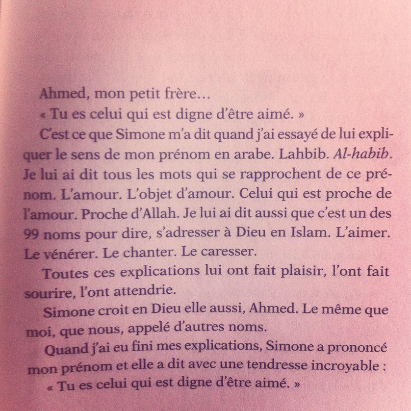 """Extrait de """"Celui qui est digne d'être aimé d'Abdellah"""" Taïa (Seuil)"""
