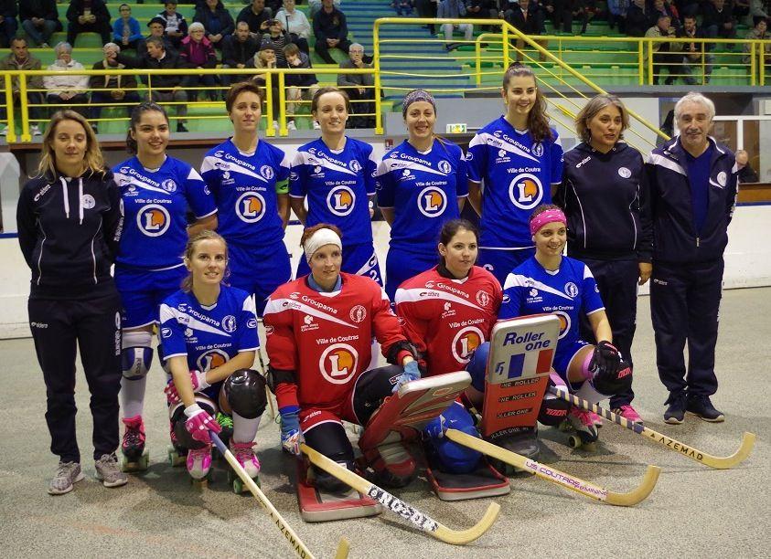 Les Coutrillonnes sont en passe de remporter leur huitième titre national.