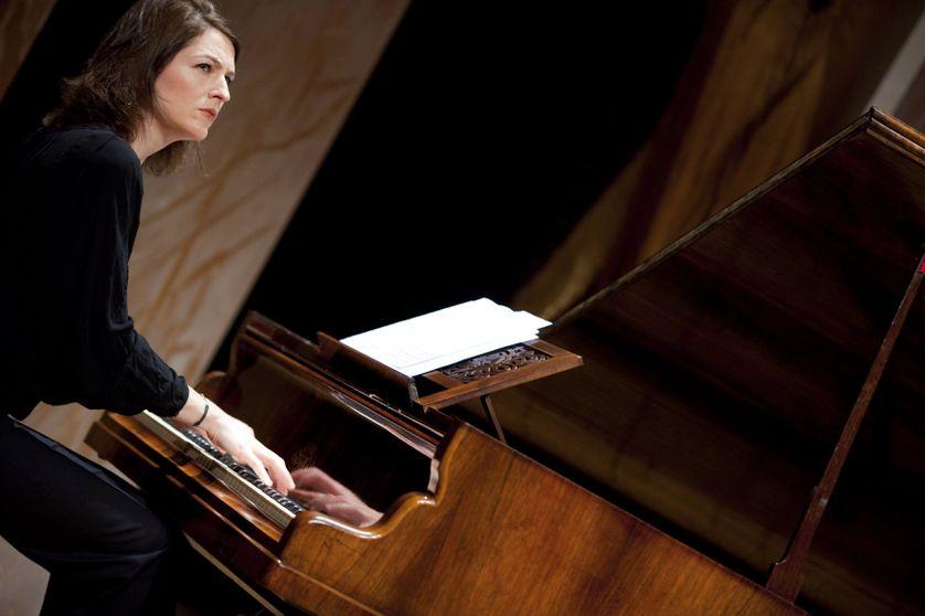 Vanessa Wagner, pianiste à la Cité de la musique à Paris