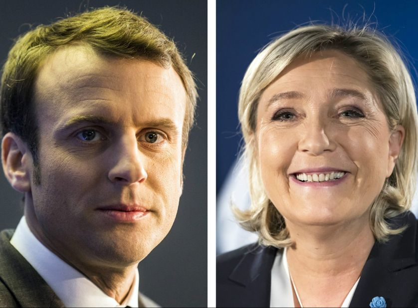Emmanuel Macron - Marine Le Pen