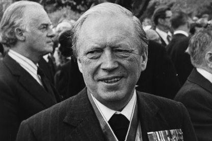 Airey Neave, député britannique, (1916-1979).