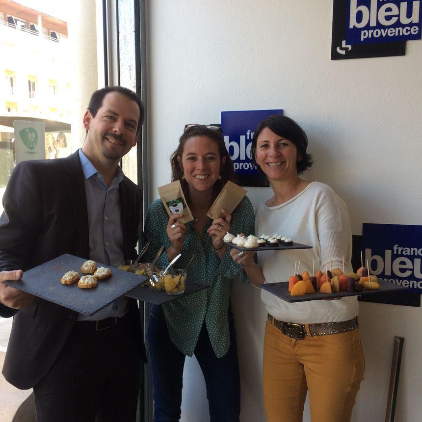 Xavier, Chef de Chez Bern's et Caroline Jammet sont les invité-es de Mélanie Masson