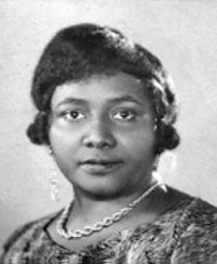 Paulette Nardal vers 1920