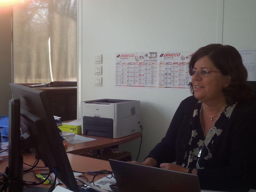 Christine Jeanney a repris les rênes de l'entreprise paternelle il y a trois ans.