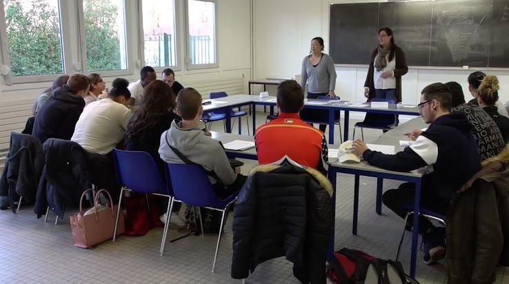 Ecole de la deuxième chance d'Hérouville Saint-Clair, la première à ouvrir ses portes en Normandie