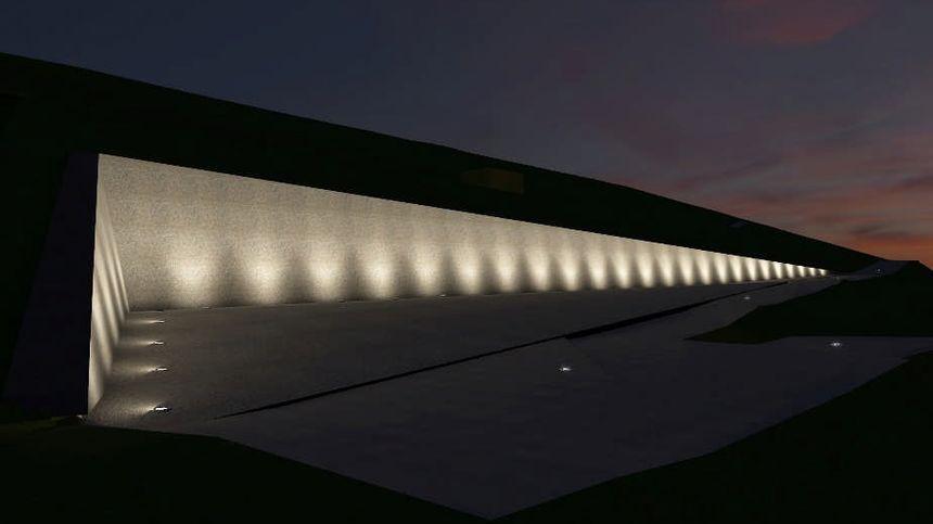 Visualisation du Mur des noms à Schirmeck
