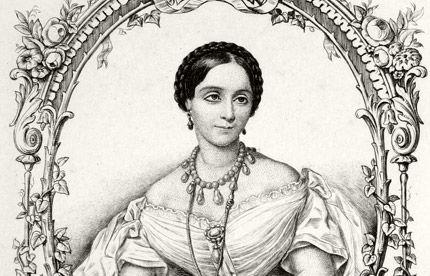Marie de Solms dans Les Matinées d'Aix-les-Bains. Chambéry chez MM. Perrin et Lajoue 1859