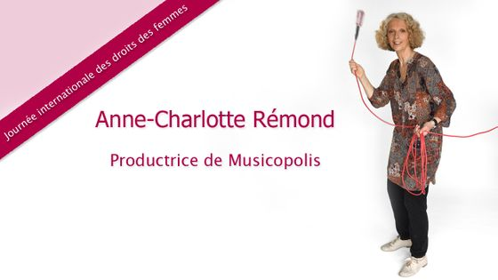 Anne-Charlotte Rémond a choisi Louise Farrenc pour la journée des droits des femmes