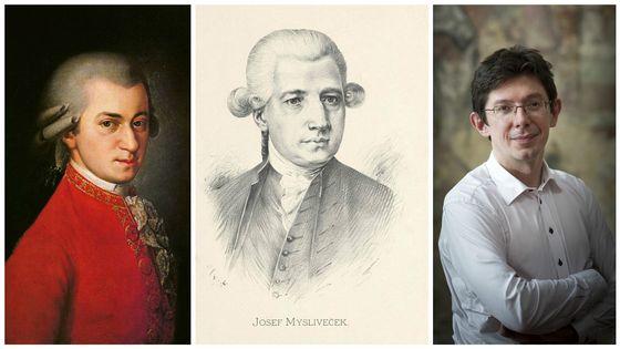 Wolfgang Amadeus Mozart / Josef Mysliveček / Václav Luks