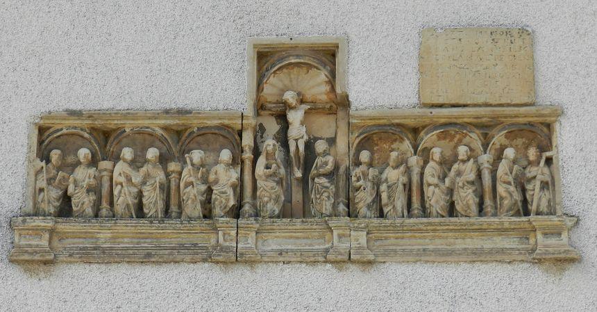 Retable renaissance de Repel, dans les Vosges
