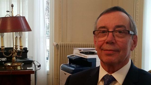 Gilbert Bouteille, président de l'Ordre national