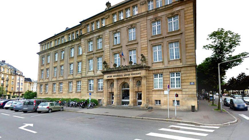 Le lycée Louis Vincent à Metz.