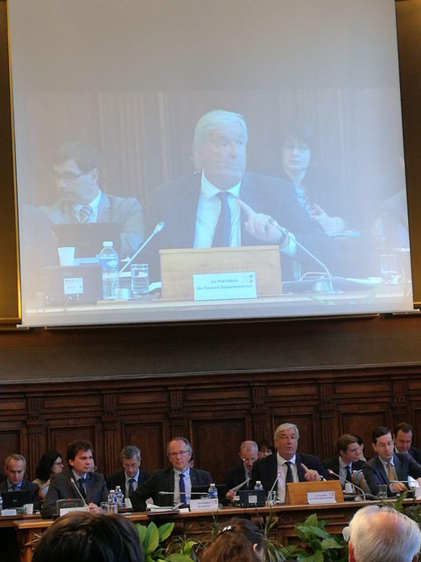 François Sauvadet, le président du conseil départemental de la Côte-d'Or