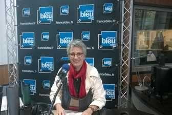Guilaine Debras, maire de Biot