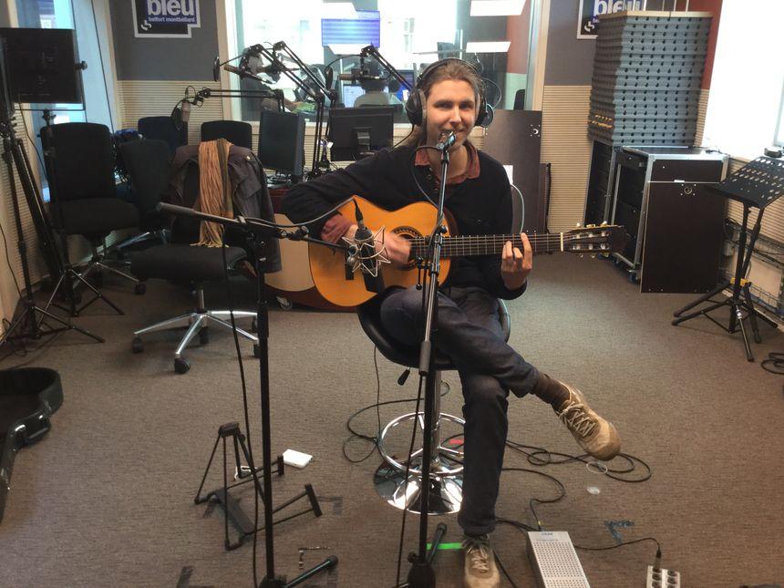Enregistrement dans notre studio