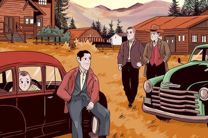 Détail de la couverture de Montana 1948