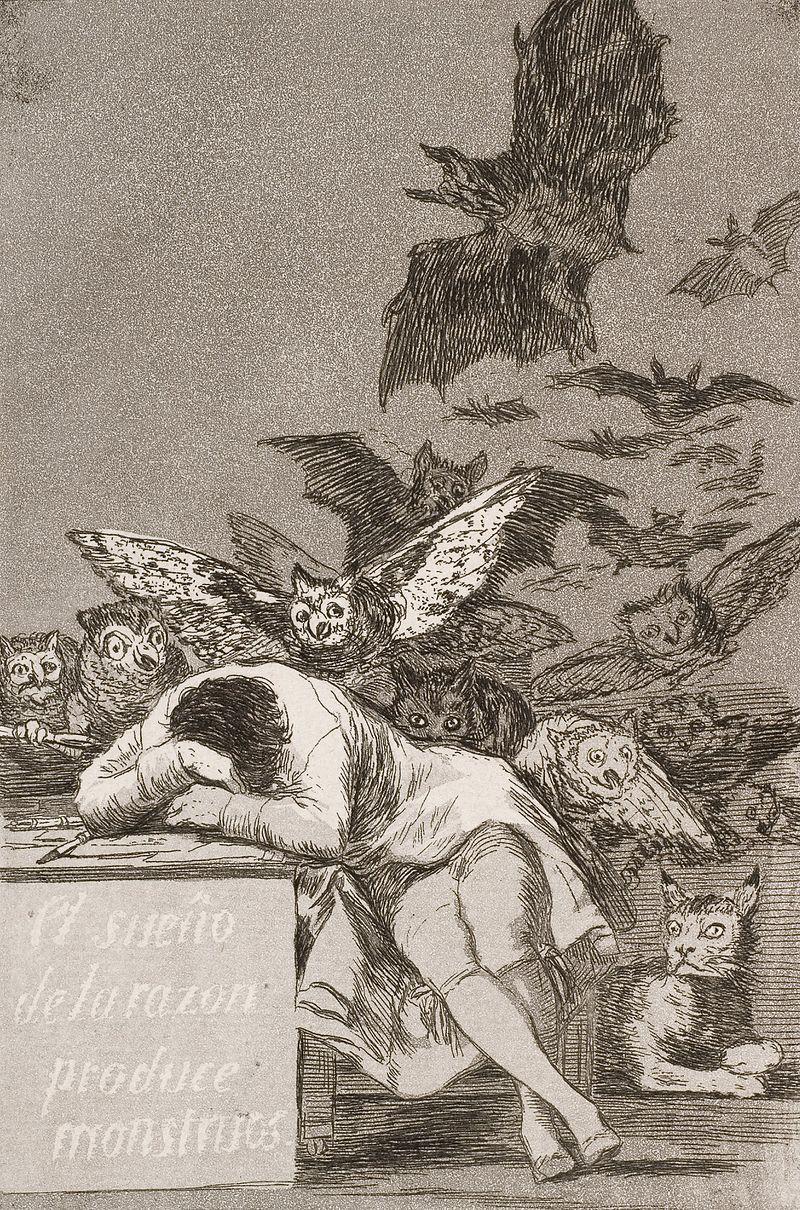 El sueño de la razón produce monstruos / Le sommeil de la raison engendre des monstres