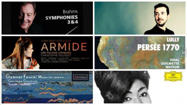 Actualité du disque : Brahms, Lully, Fauré ...