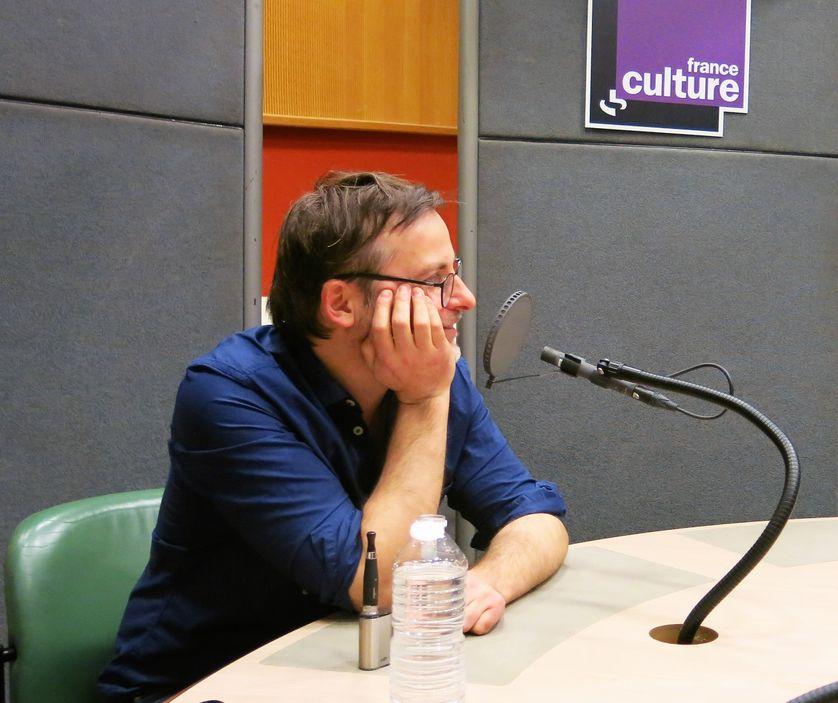 "France Culture, studio 110... Bertrand Santini ""Hugo la nuit"" Grasset-Jeunesse"