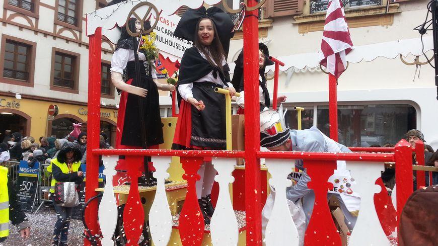 Les chars du carnaval de Mulhouse