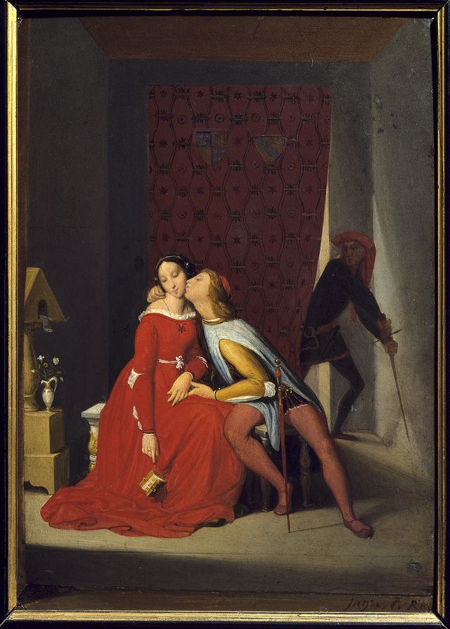 Francesca Da Rimini et Paolo Malatesta - Bayonne, Musee Bonnat