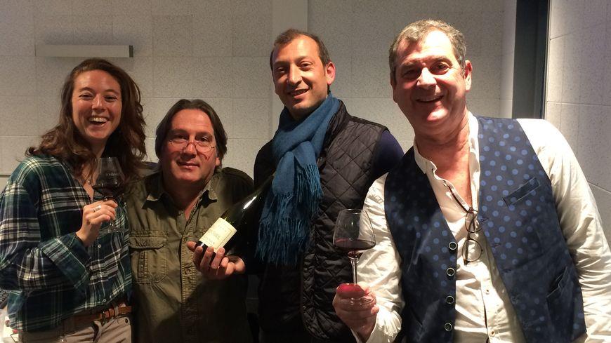 Stéphane Tramoni, Nicolas Mereu, sont les invités de Mélanie Masson et Pascal à la technique