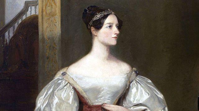 """Ada Lovelace  mathématicienne  est souvent appelée """"le premier informaticien"""" car elle a écrit un algorithme de Machine analytique de Charles Babbage, considéré comme l'ancêtre de l'ordinateur."""