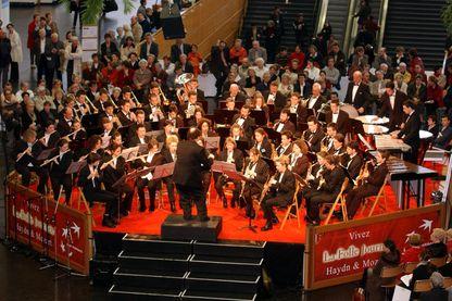 L'orchestre d'harmonie de Paimboeuf