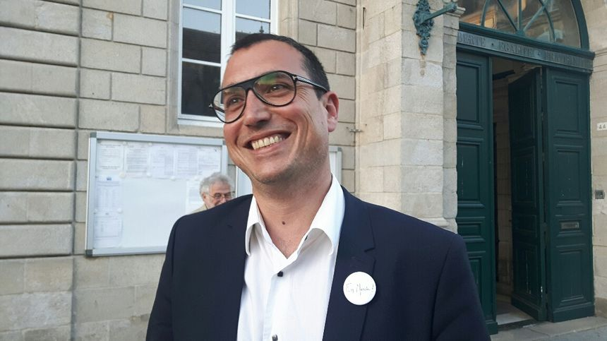 Karim Ghacem, responsable En Marche à Quimper