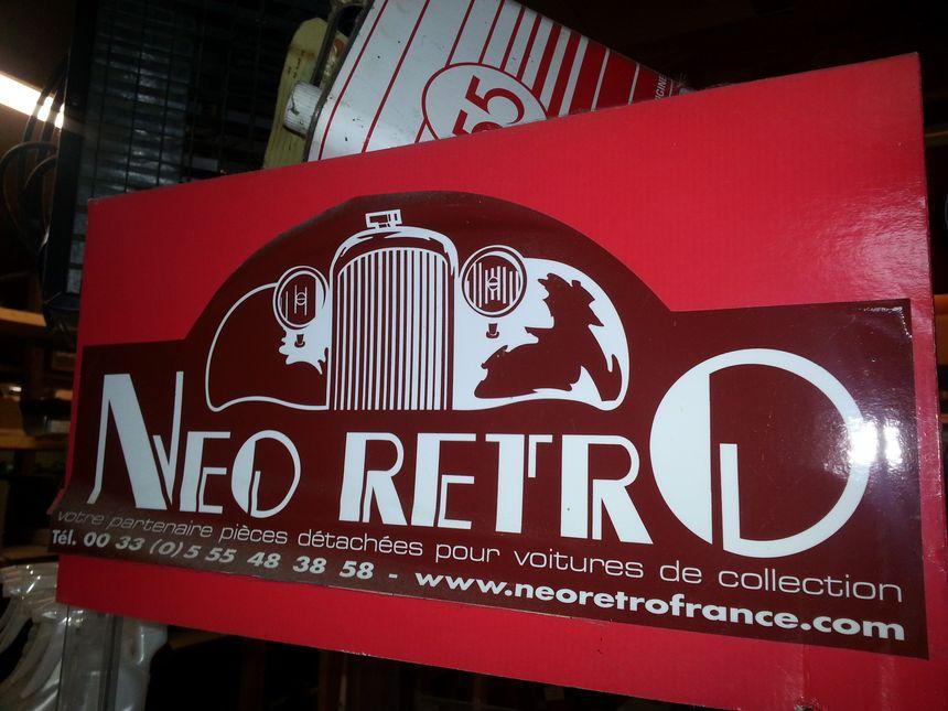 La société Néo Rétro est basé au lieu dit Crouzeix, sur la commune de Feytiat en Haute-Vienne